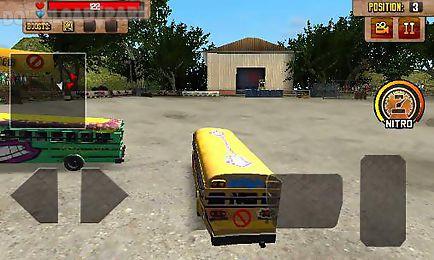 school bus: demolition derby