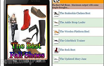 The best fall shoes