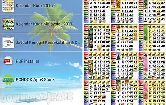 Malaysia calendar lunar 2017 Android App free download in Apk