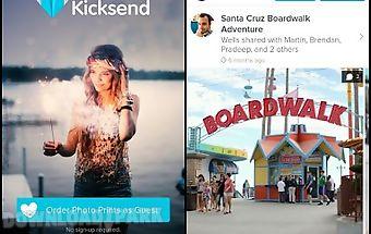Kicksend: share & print photos