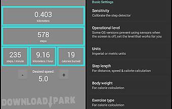 Pedometer - caloriecounter
