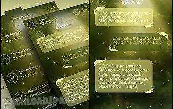 Go sms spark theme