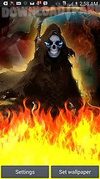 grim reaper flame of death lwp