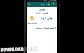 Kurdish weather