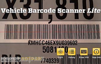 Vehicle barcode scanner lite