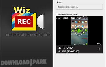 Wizrec - screen recorder