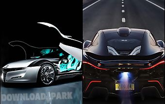 Futuristic cars live wallpaper