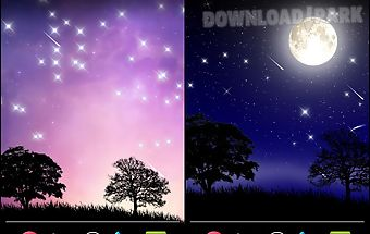 Meteorshower live wallpaper