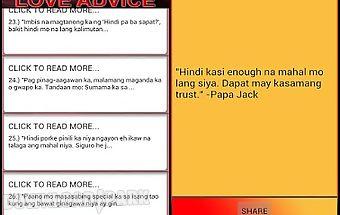 Pinoy love advice