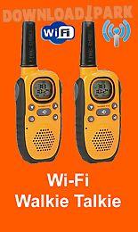 wi-fi walkie talkie