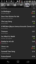 10 tracks: cloud music player