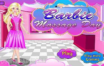 Barbie massage day
