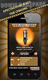 city rider extreme bike race