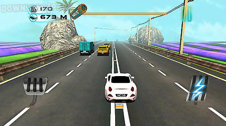 highway supercar speed contest
