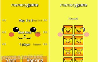 Pokemon memory games