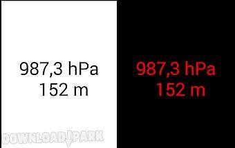 Altimeter & barometer