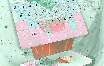 Cute keyboard cupcakes