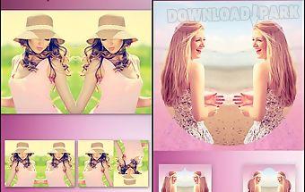 Insta mirror photo effect