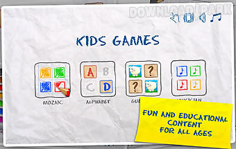 Kids games (4 in 1)