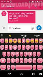 pink type writer keyboard skin