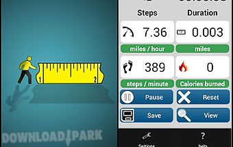 Walk pedometer - step log