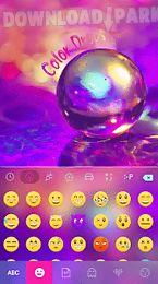 color drops emoji keyboard 🎀