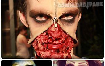 Crazy evil snapchat makeup