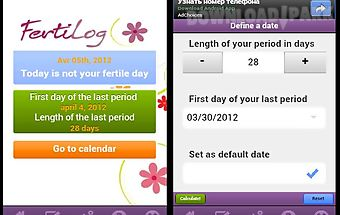 Fertilog - period tracker