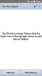file hide expert