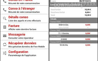 Free mobile contrôle
