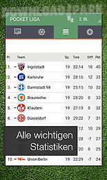 pocket liga - fussball live