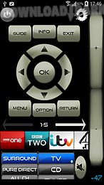 remote for samsung tv/blu-ray