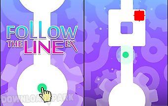Follow the line ex