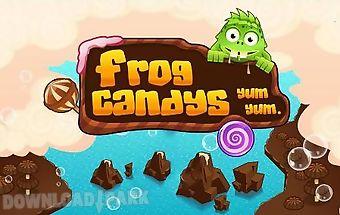 Frog candys: yum-yum