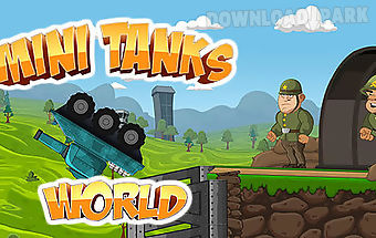 Mini tanks world: war hero race
