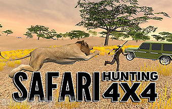 Safari hunting 4x4
