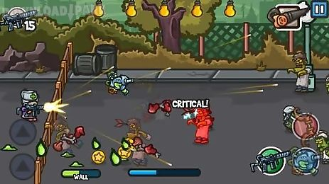 Zombie guard Android Game free download in Apk