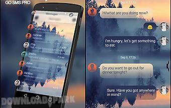 (free) go sms leisurely theme