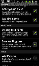 bird sounds & ringtones
