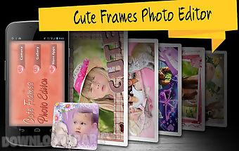 Cute frames photo editor