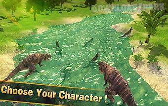 Dinosaur rampage survival