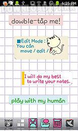 foocat notes live wallpaper