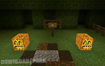 Halloween for minecraft pe