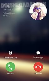 i call screen dialer 6s theme
