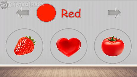 Learning colors for kids Android Game free download in Apk