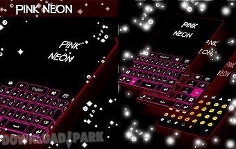 Pink neon keypad free