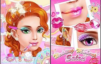Wedding makeup salon:girl game