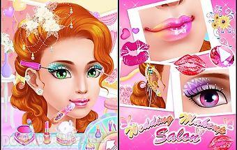 Wedding makeup salon:girl game