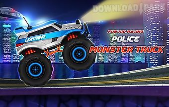 Fun kid racing: police monster t..