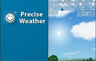 Precise weather